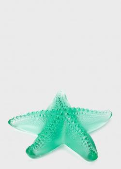 Пресс-папье Lalique Oceania в виде морской звезды, фото