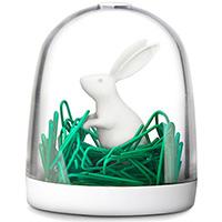 Держатель для скрепок Qualy Bunny in The Field, фото