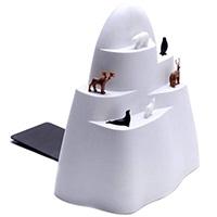 Держатель для книг с набором закладок Qualy Iceberg, фото