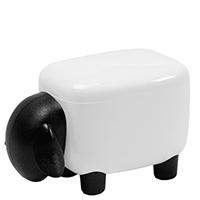 Контейнер Qualy Sheepshape Container Junior черно-белый, фото