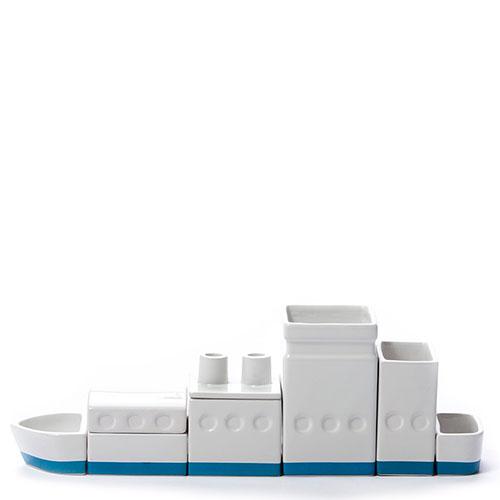 Органайзер кораблик Seletti для канцелярии , фото