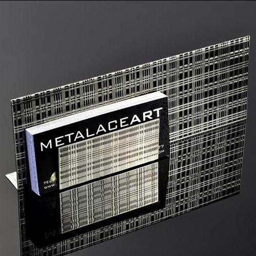 Подставка Metalace ажурная для визиток , фото
