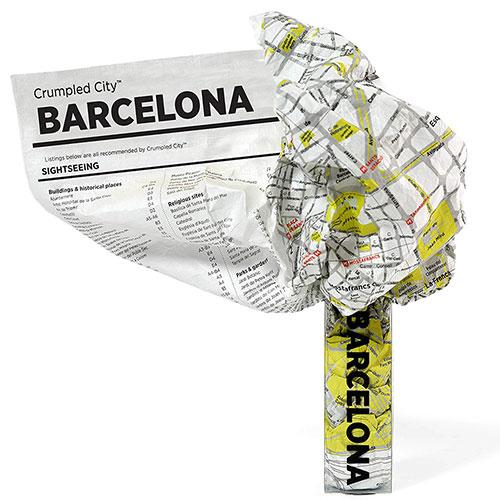 Мятая карта Palomar Barcelona, фото