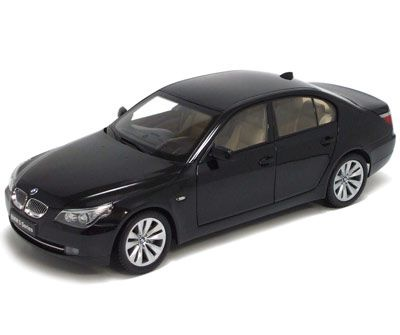 BMW 550i Sedan-Face Lift (E60) Black, фото