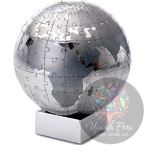 Паззл-глобус на 64 детали Philippi (большой), фото