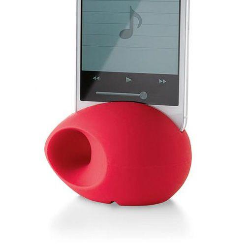 Подставка-усилитель звука Philippi Ei iPhone красный, фото