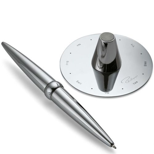 Ручка с подставкой Philippi Helicopter с принимателем решений, фото