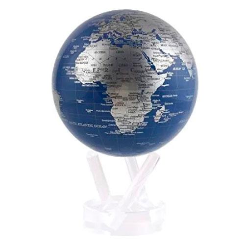 Самовращающийся глобус Mova Globe Политическая карта
