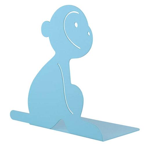 Держатель для книг Alessi Lola Monkey голубого цвета