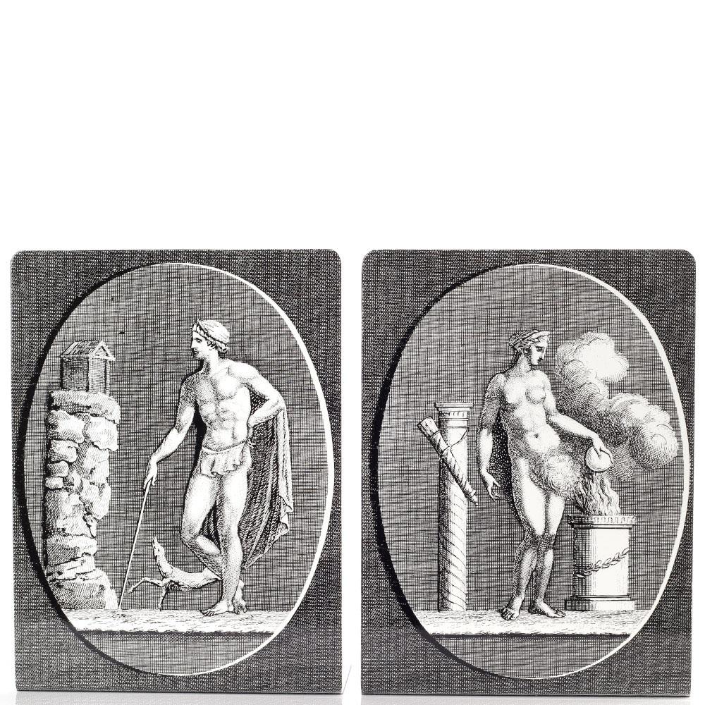 Комплект подставок для книг Fornasetti Grandi Cammei