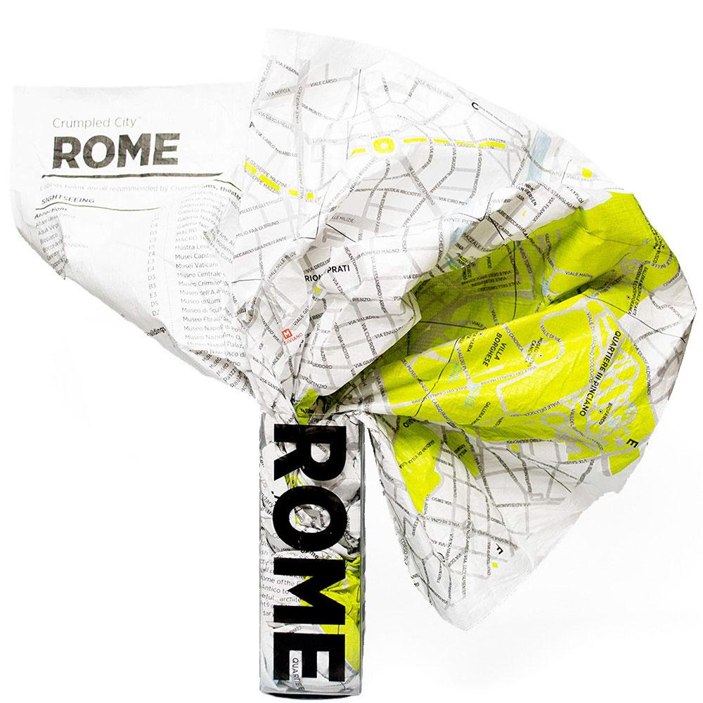 Мятая карта Palomar Rome