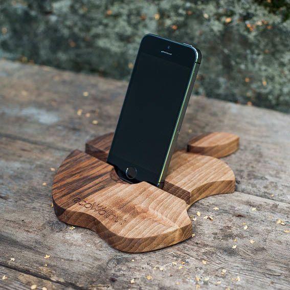 Подставка для телефона Ecowalnut в форме яблока