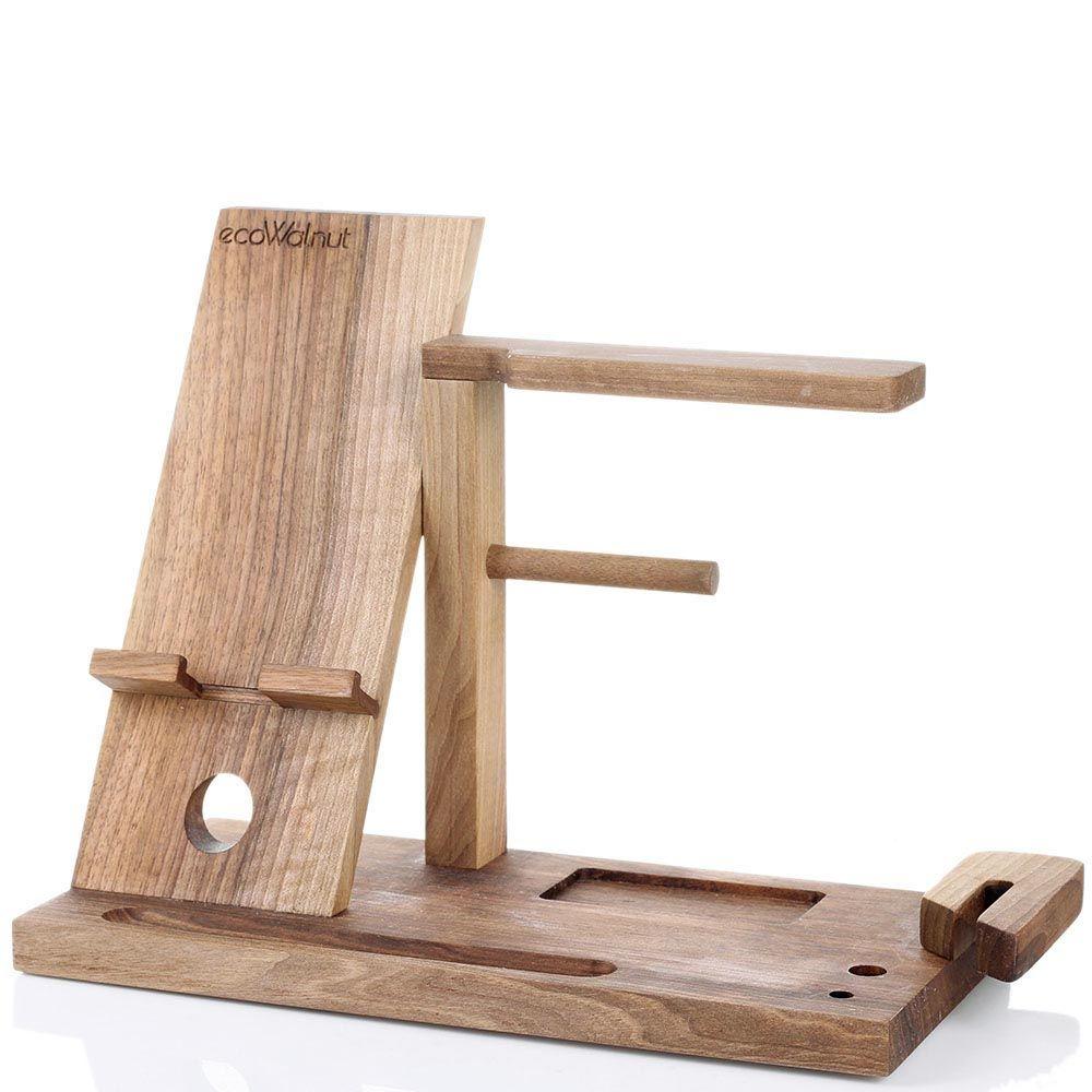 Мужской деревянный органайзер Ecowalnut