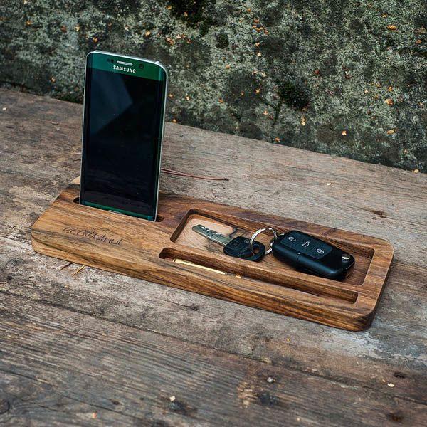 Подставка под планшет и смартфон из дерева Ecowalnut Бизнес