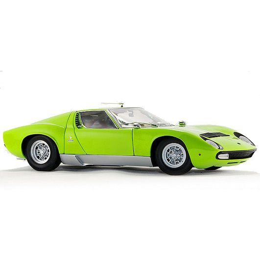 Коллекционная модель Kyosho 1:18 Lamborghini Miura P400 SV Light Green