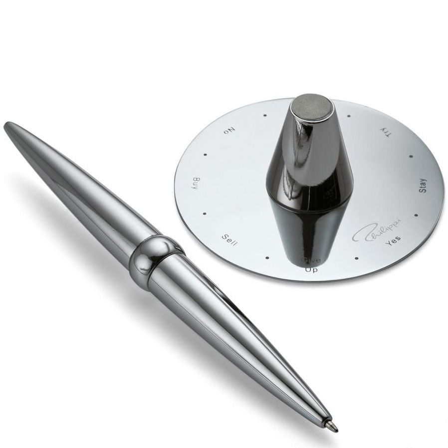 Ручка с подставкой Philippi Helicopter с принимателем решений