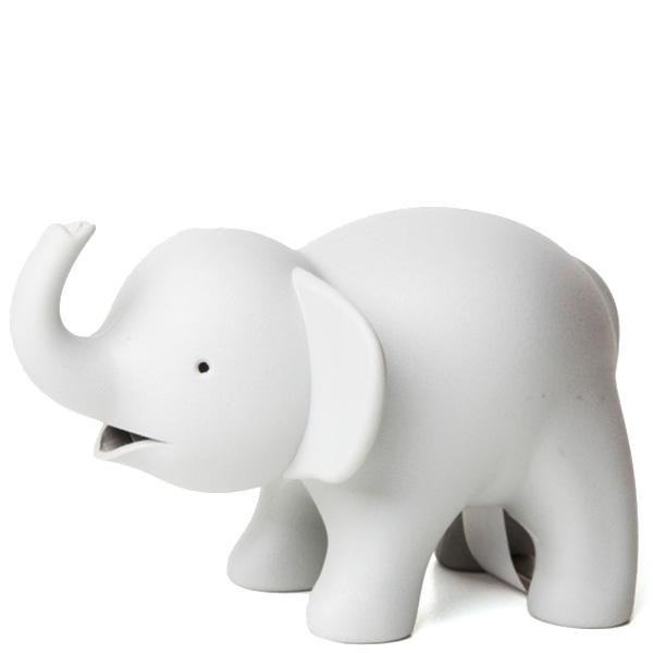 Диспенсер для скотча и скрепок Qualy Elephant