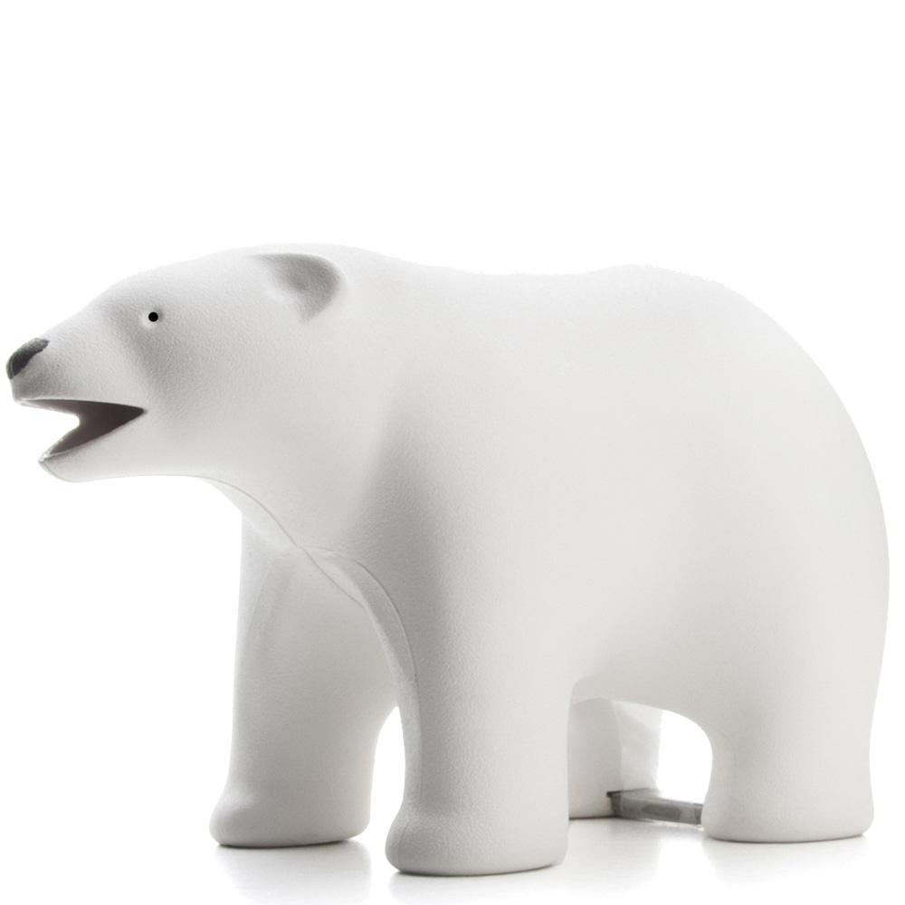 Настольный диспенсер для скотча Qualy Polar Bear