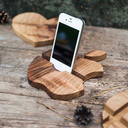 Подставка для телефона Ecowalnut в форме яблока, фото