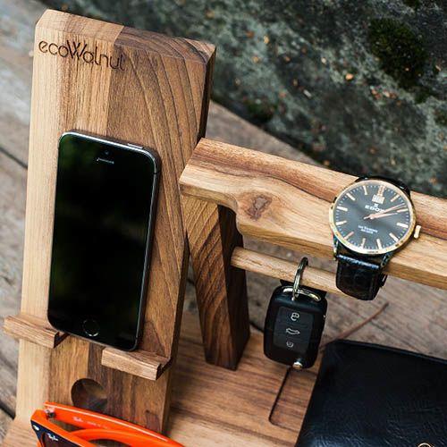 Мужской деревянный органайзер Ecowalnut, фото