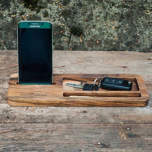 Подставка под планшет и смартфон из дерева Ecowalnut Бизнес, фото