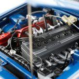 Nissan Skyline GTR (KPGC110) Tokyo MotorShow 1972 Blue Metallic, фото
