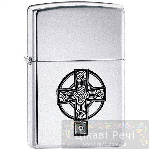 Зажигалка с кельтским крестом (Celtic Cross), фото