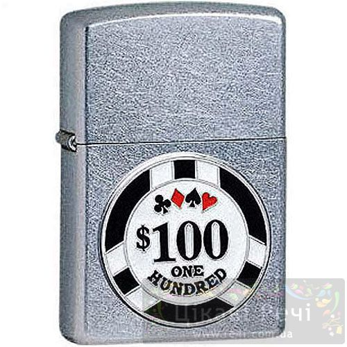 Зажигалка Poker Chip, фото