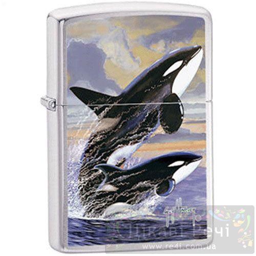 Зажигалка Gh - Killer Whales, фото