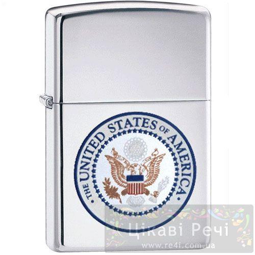 Зажигалка U.S. Seal High Brushed Chrome, фото