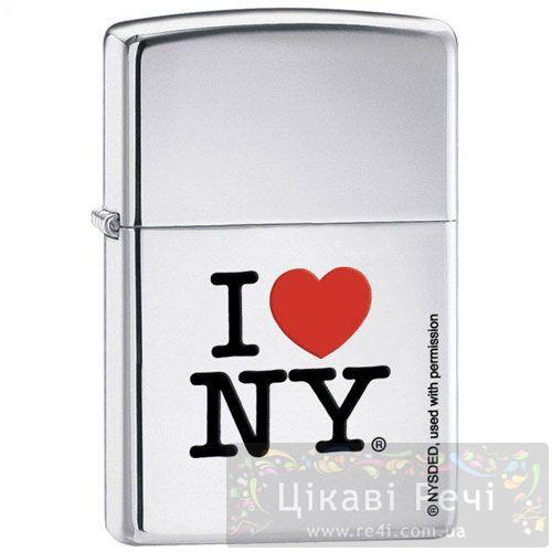 Зажигалка I Love NY, фото