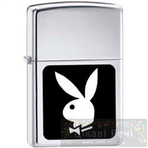 Зажигалка Playboy In Black & White, фото