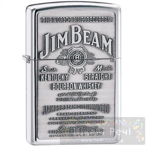 Зажигалка Jim Beam Pewter Emblem, фото