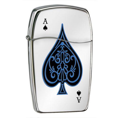 Зажигалка Газовая Zippo BLU Ace of Spades, фото