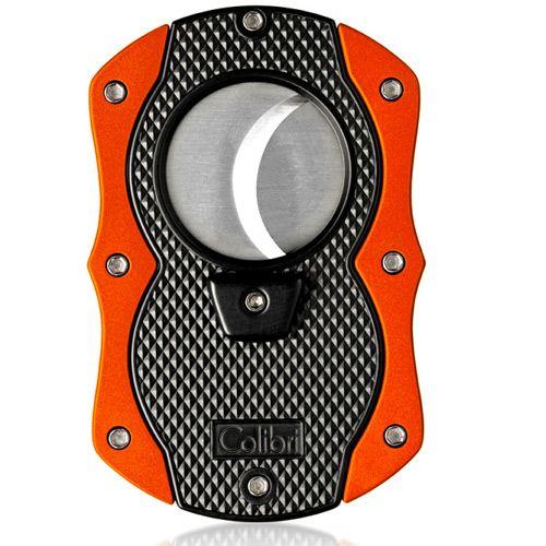 Гильотина для сигар Colibri Monza оранжевая, фото