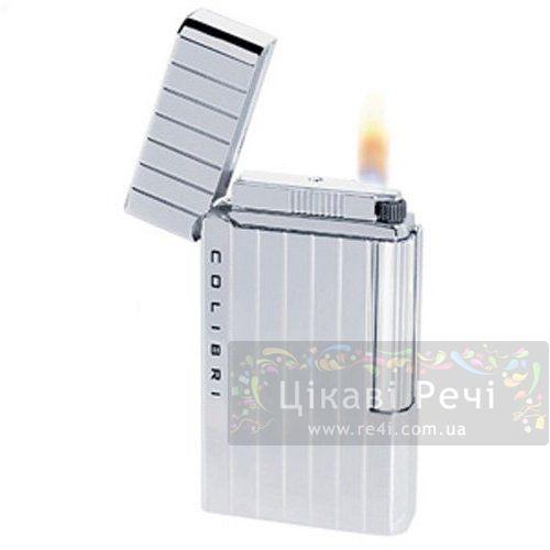 Зажигалка Wellington серебристая, фото