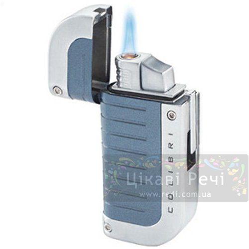 Зажигалка Profusion серо-синяя, фото