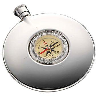 Фляга Dalvey CP со встроенным компасом , фото