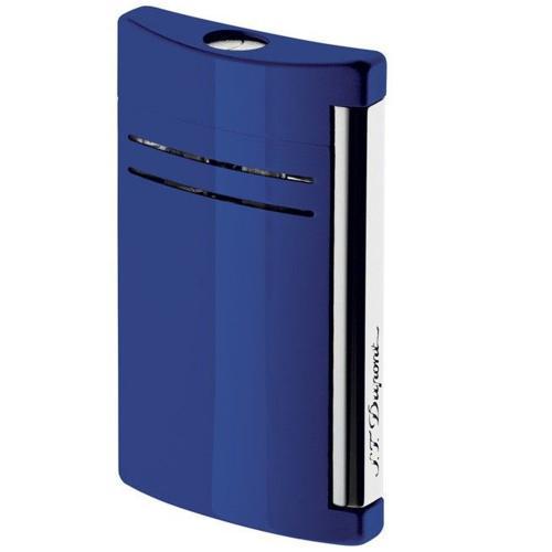 Синяя зажигалка S.T.Dupont MaxiJet, фото