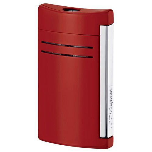 Зажигалка S.T.Dupont MaxiJet в лаке огненно-красного цвета, фото