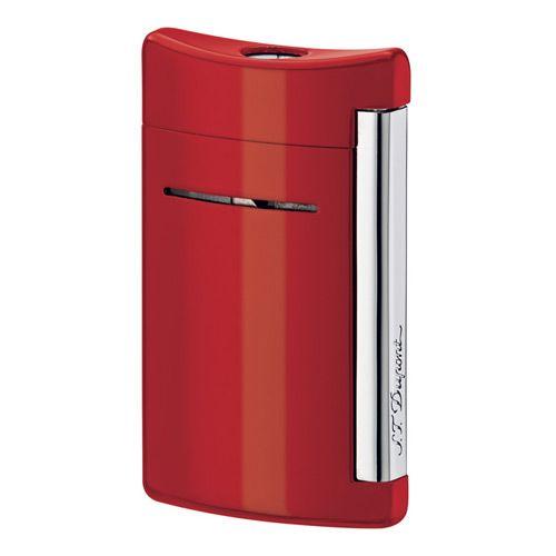 Ярко-красная зажигалка S.T.Dupont miniJet, фото