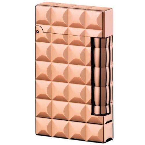 Зажигалка S.T.Dupont серии Ligne D розовая позолота, фото