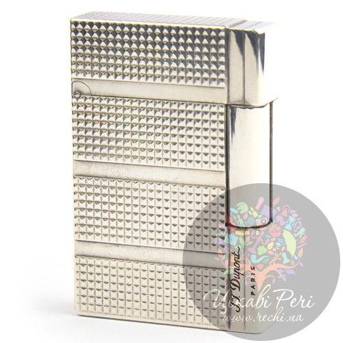 Зажигалка с серебром и узором , фото