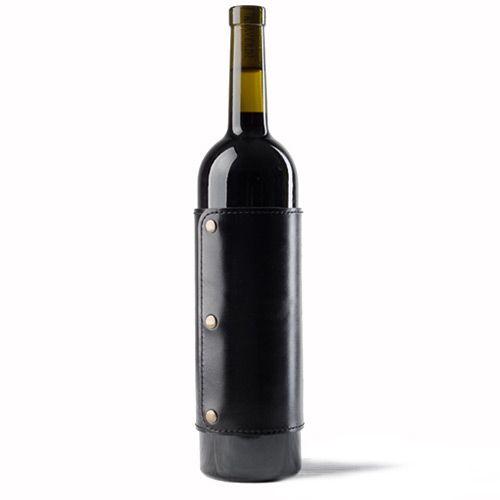 Кожаная манжетка Moreca для бутылки вина, фото