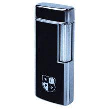 Газовая зажигалка с кремнием Miranda черный лак, фото