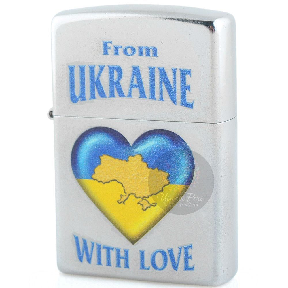 Зажигалка Zippo From Ukraine With Love