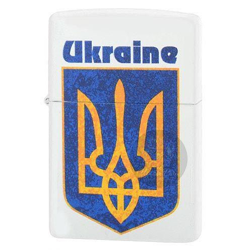 Зажигалка Zippo с гербом Украины