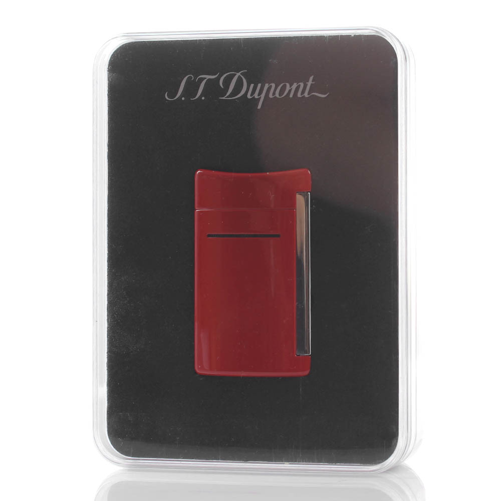 Зажигалка S.T.Dupont MINIJET красного цвета