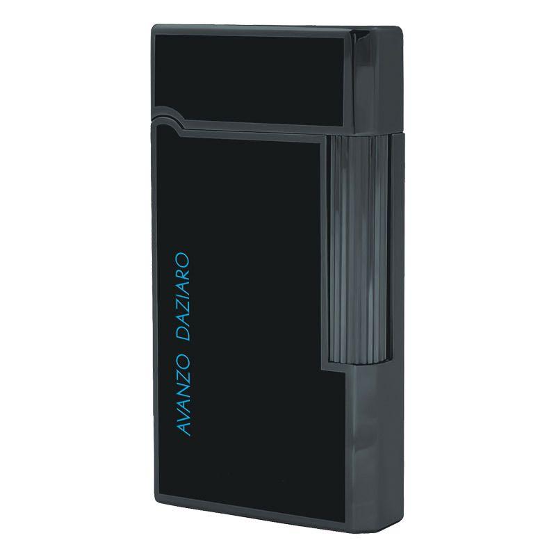 Зажигалка Avanzo Daziaro Aqua газовая кремниевая в черном матовом лаке