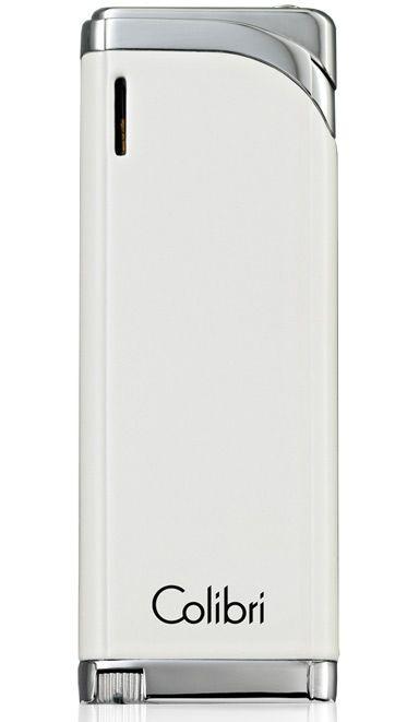 Зажигалка Colibri Debonair с белым лаком